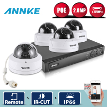 ANNKE 8CH HD 2.0MP 1080P NVR Kit PoE IP Camera Set Network WDR Outdoor Security Camera CCTV System POE Remote Surveillance Kit