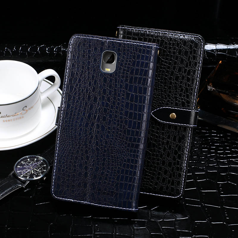 Itgoogo Case For Oukitel K6000 Plus Case Cover 5.5 Crocodile skin Flip Leather Case For Oukitel K6000 Plus Cover Phone Bag