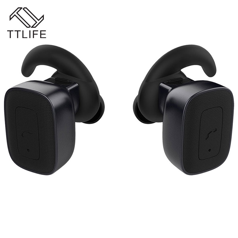 TTLIFE New Mini Bluetooth 4.1 Earphones As Wireless Stereo Headphones Noise Cancelling With Mic For phones fone de ouvido