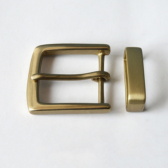 Nickle Plated Sliding 1 x 40mm Bar Buckle Handy Straps