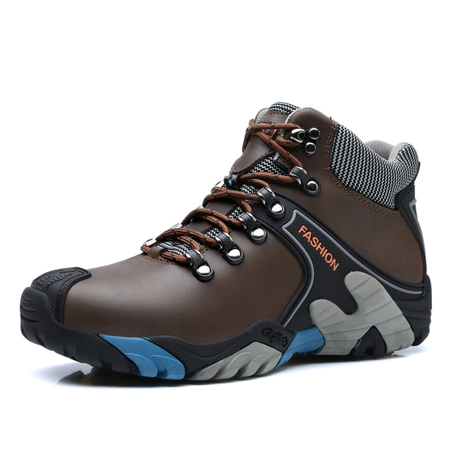 Anti-Slip Military Tactical Boots for Men Camping Trekking Shoes Woman High Ankle Sports Man Sneakers Couple Shoes Plus Size 46