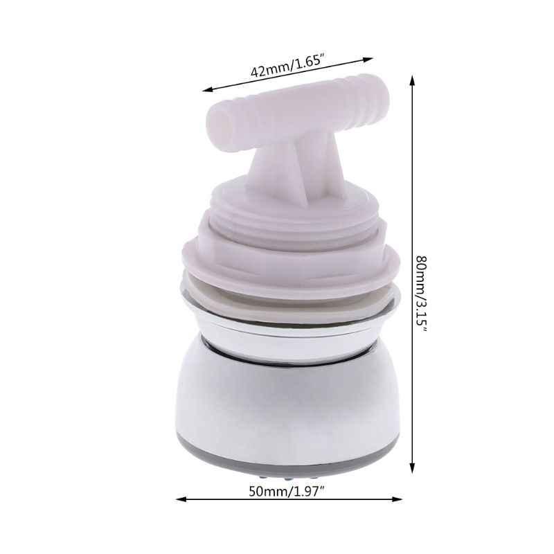 プラスチック浴室ハイドロマッサージシャワーヘッド節水回転体バックマッサージシャワーノズル 5 × 8 センチ