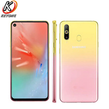 "Brand New Samsung Galaxy A8s SM G8870 4GLTE Mobile Phone 6.4"" 6GB RAM 128GB ROM Octa Core Snapdragon 710 Four Camera NFC Phone"