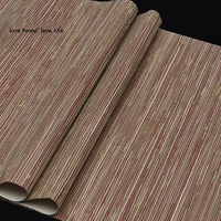 Southeast Asia Style Straw Natural Wallpaper Rolls For Living Room Background Natural Wall Paper Wood Wallcoverings