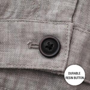 Image 5 - Markless cienki len męskie spodnie męskie komercyjne luźne dorywczo spodnie biznesowe odzież męska proste płynne spodnie męskie