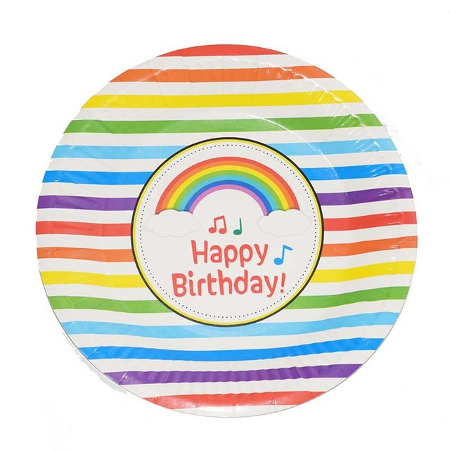 Ynaayu 6pcs/set Party Disposable Plate Cute Rainbow Cat Napkins Paper Plates For Birthday Party  sc 1 st  AliExpress.com & Ynaayu 6pcs/set Party Disposable Plate Cute Rainbow Cat Napkins ...