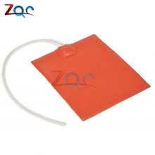 Temperature-Heater-Panel-Plate Silicone-Rubber DC Constant for Heating-Tool 12V 100--120mm