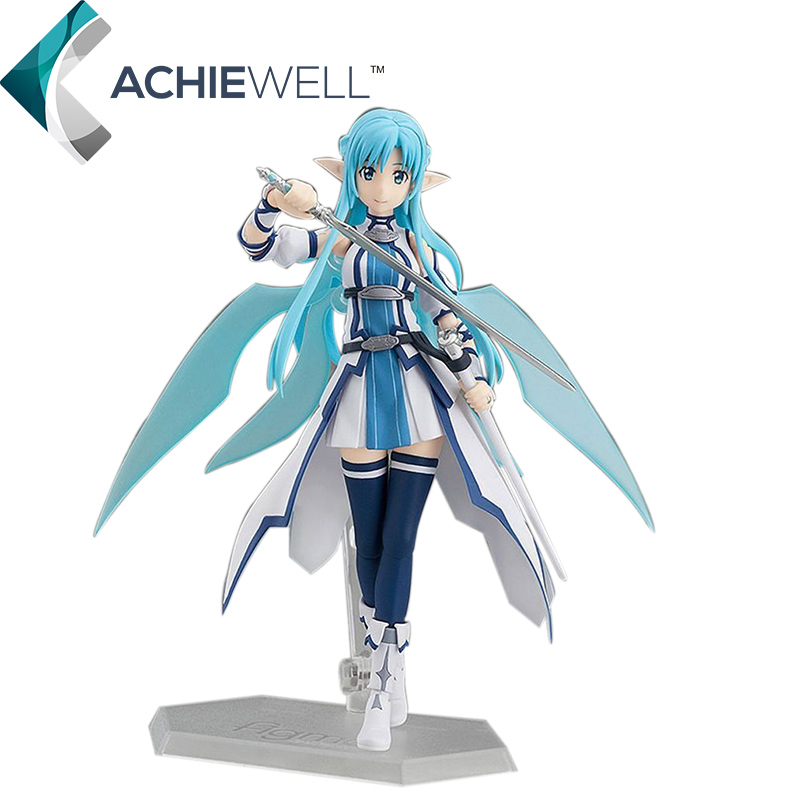 Japan Sword Art Online Character Asuna Action Figure Water Spirit Model Fan Collection Gift For Adult Plastic Toys Figma 264