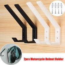 2Pcs Multipurpose Hook Clothes Jacket Helmet Bags keys Holder Hook for Kitchen D