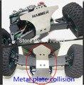 WLtoys K949 Coche Del Rc 4wd Energía Eléctrica Escala 1/10 En Carretera Drift Racing Actualiza Repuestos placa de protección Metálica