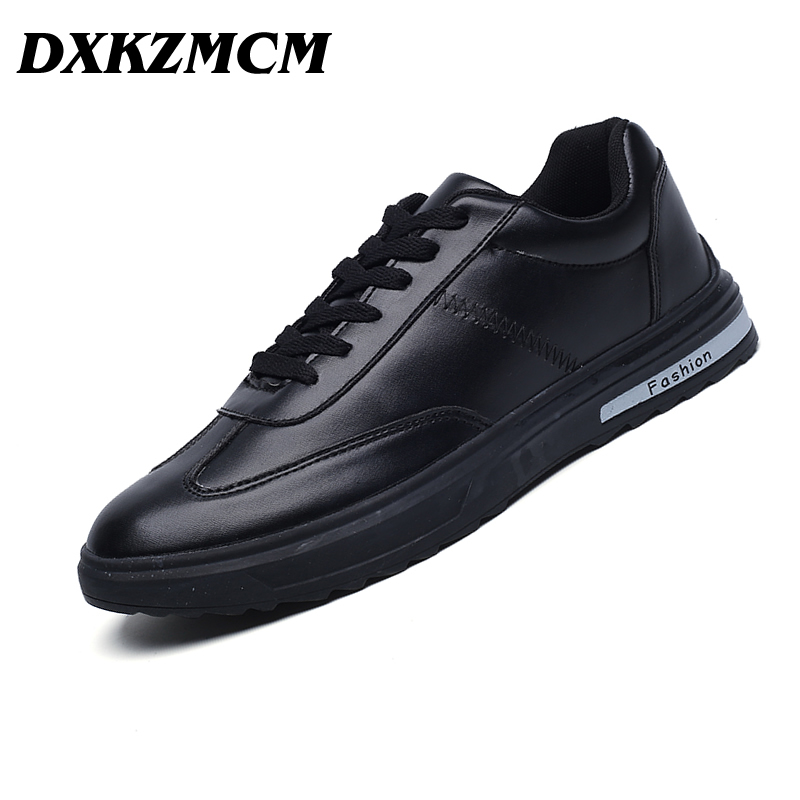 DXKZMCM 2018 Men Casual Shoes Summer Men Shoes Spring Breathable Men Sneakers Lace Up Male Shoes dxkzmcm men casual shoes lace up cow leather men flats shoes breathable dress oxford shoes for men chaussure homme