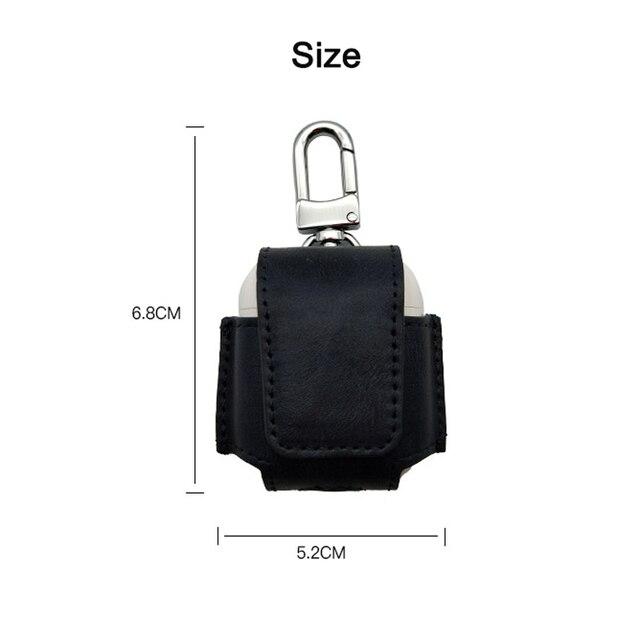 Stitch Leather AirPod Case Cover 3