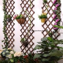 Расширяющийся деревянный садовый настенный забор, панель для подъема растений, поддержка, декоративный садовый забор для украшения дома, двора, сада