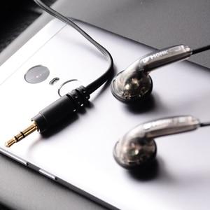 Image 5 - Спортивные наушники OLLIVAN с плоской головкой, наушники вкладыши VE Monk Plus, стереогарнитура с басами для Iphone, XiaoMi, Samsung, Huawei, всех телефонов
