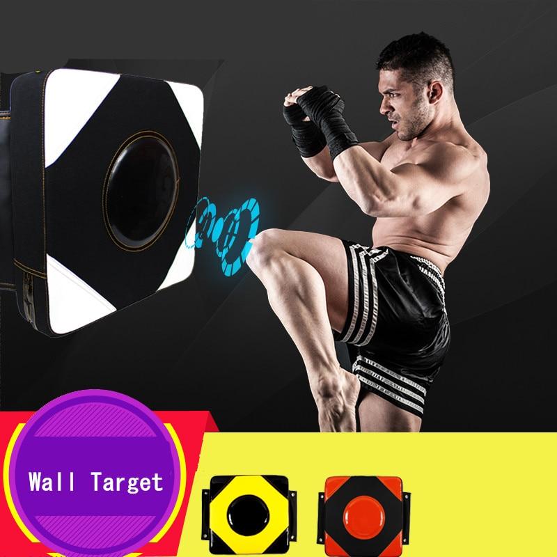 30*30*10cm Boxing Target Durable PU Punching Wall Pads MMA Kick Muay Thai Square Wall Target TKD Martial Arts Punch Pad