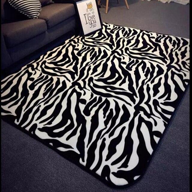 Teppich Zebra Benutzerdefinierte Einfache Moderne Zebra Teppich ...