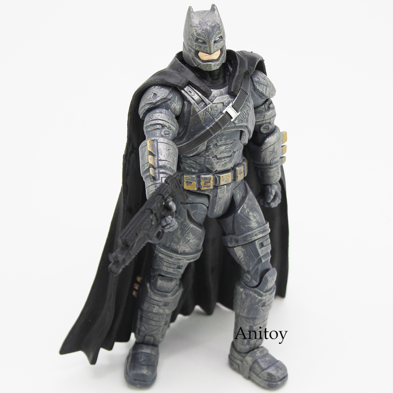 Batman V Superman Dawn of Justice Armored Batman PVC Action Figure Collectible Model Toy for boys Toys for Children