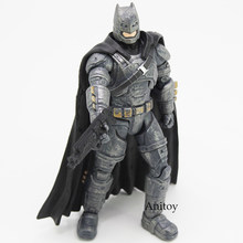 Batman V Superman Dawn of Justice Armored Batman PVC Action Figure Collectible Model Toy for boys Toys for Children(China)