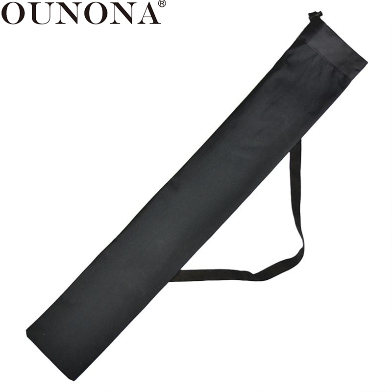 OUNONA OxfordCloth Portable Trekking Pole Storage Bag Waterproof Stocks Stick Pouch Carrying Bag For Stick Trekking Hiking Poles