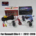 For Renault Clio 4 IV 2012~2016 / Car Rear View Camera + Laser Rear Fog Lamp / 2 In 1 Collision Avoidance Active Safety System