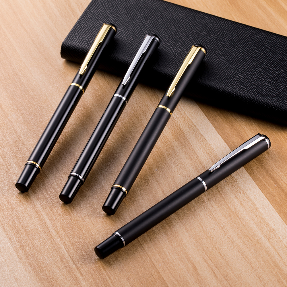 1pcs New Metal Ball Pen Signature Pen Gel Pen School Supplies Office Gifts Business Pen