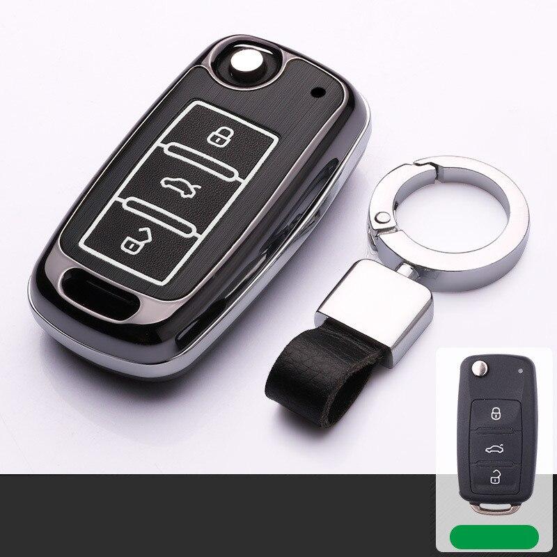 Aluminum-alloy-Car-Key-Case-for-cover-for-VW-Volkswagen-polo-passat-b5-golf-4-5 (3)