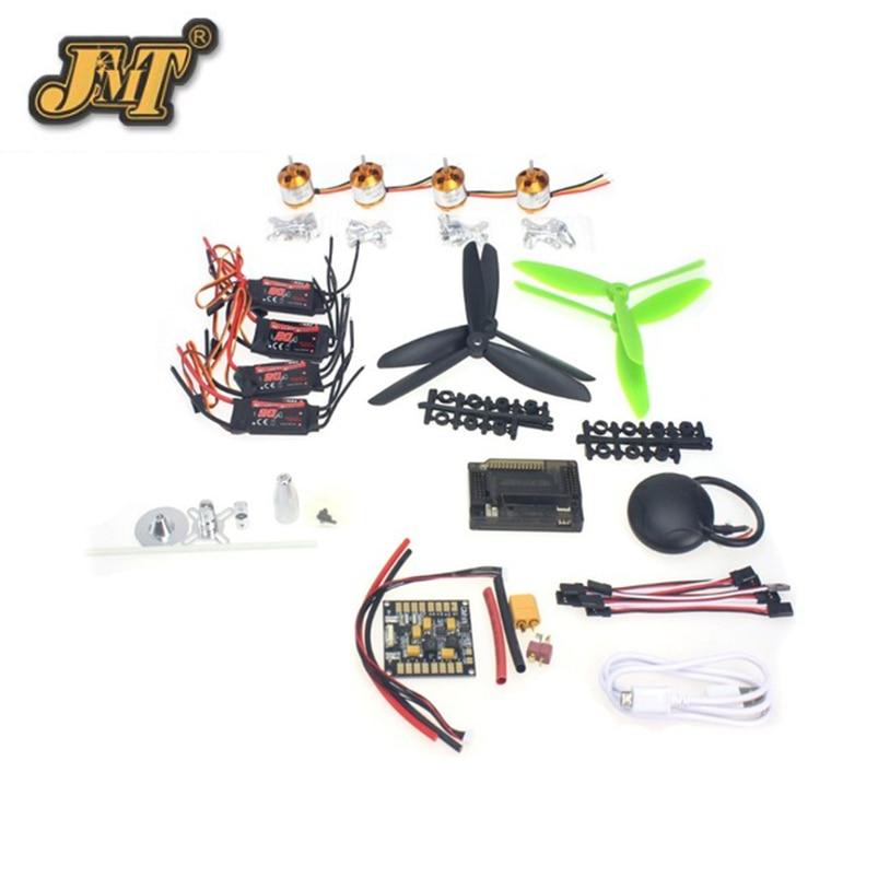 JMT GPS APM2 8 Flight Control EMAX 20A ESC 1400KV Brushless Motor 7045 Propeller for 4