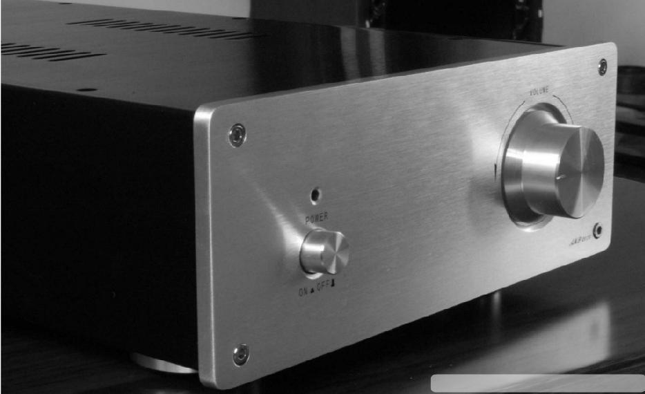 DIY amplifier case 200*75*336mm AMP-2075 Full aluminum Power amplifier chassis/AMP case Enclosure / headphone AMP box DIY gzlozone diy kit hd 8 a1 pro headphone amplifier amp box headphone amp kit transformer