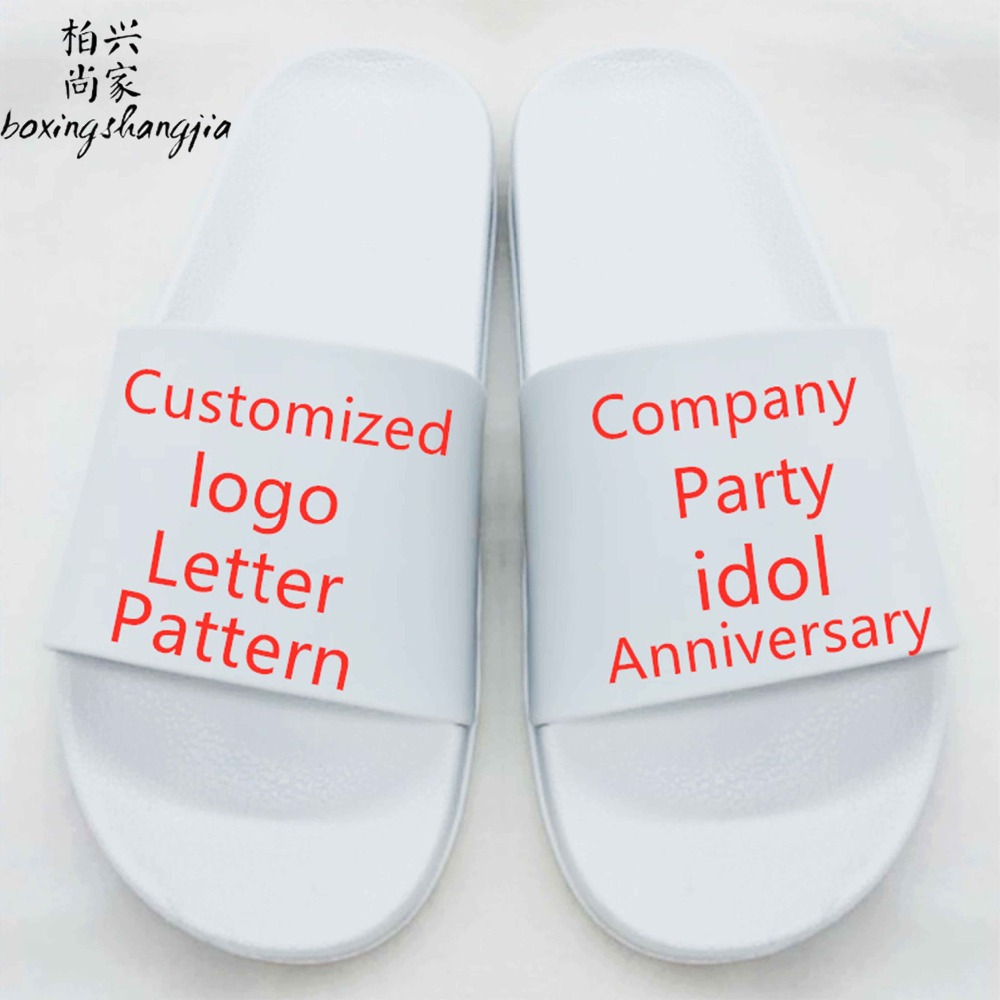 Custom-Slippers Logo Characteristic Antiskid 12-Zodiac Private-Order In-Room Lovers