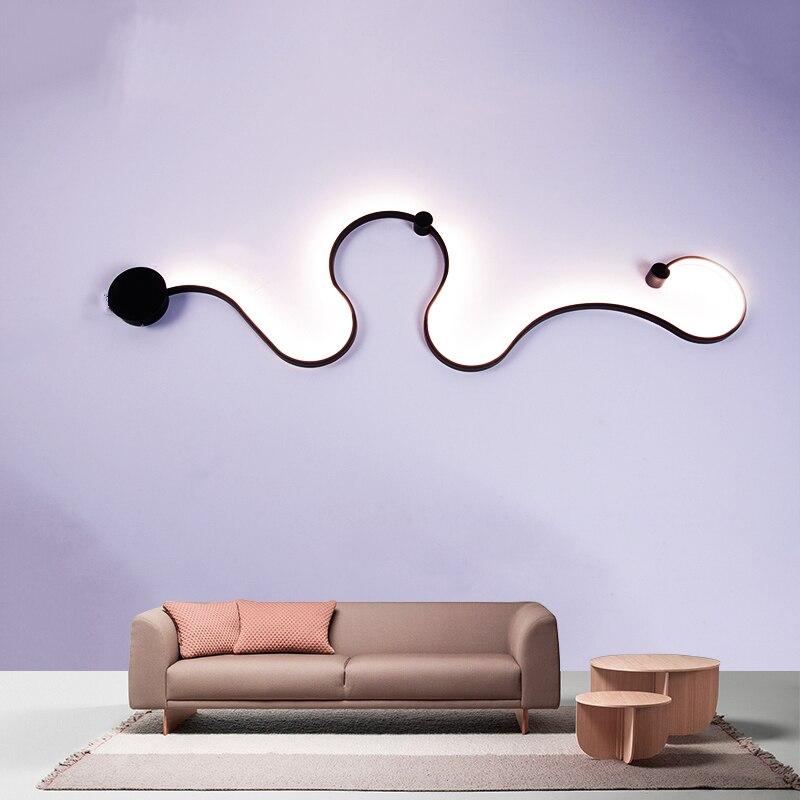купить Creativity Diy Modern led Wall Lamps home lighting led Wall Lights For Bed Room living room dining room Home lighting decoration по цене 4195.22 рублей