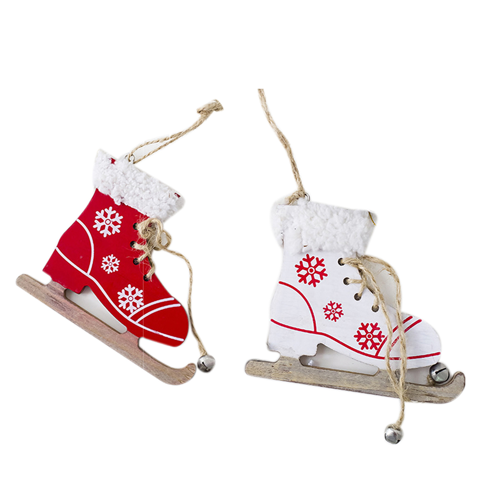 New Christmas Tree Innovative Skates Ski Shoes Pendant Christmas ...