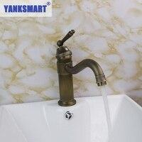 Elephants Nose Antique Brass Bathroom Faucet Kitchen Basin Sink Mixer Tap CM0127