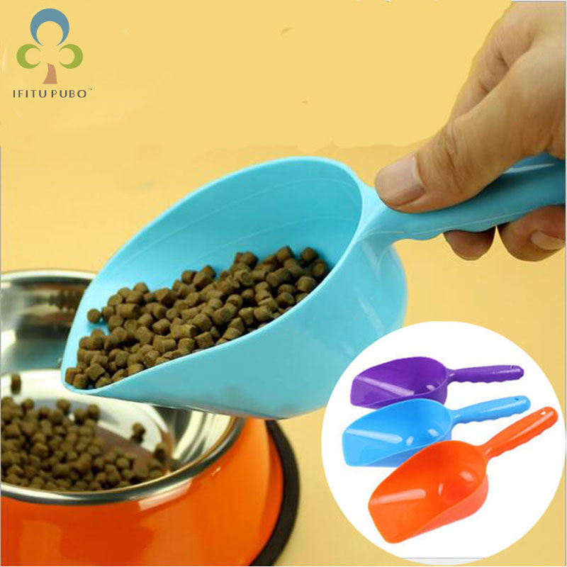 Pet Food Shovel Dog Food Cat Food Shovel High Quality Green Pet Food Shovel Utensils Random Color  Lyq