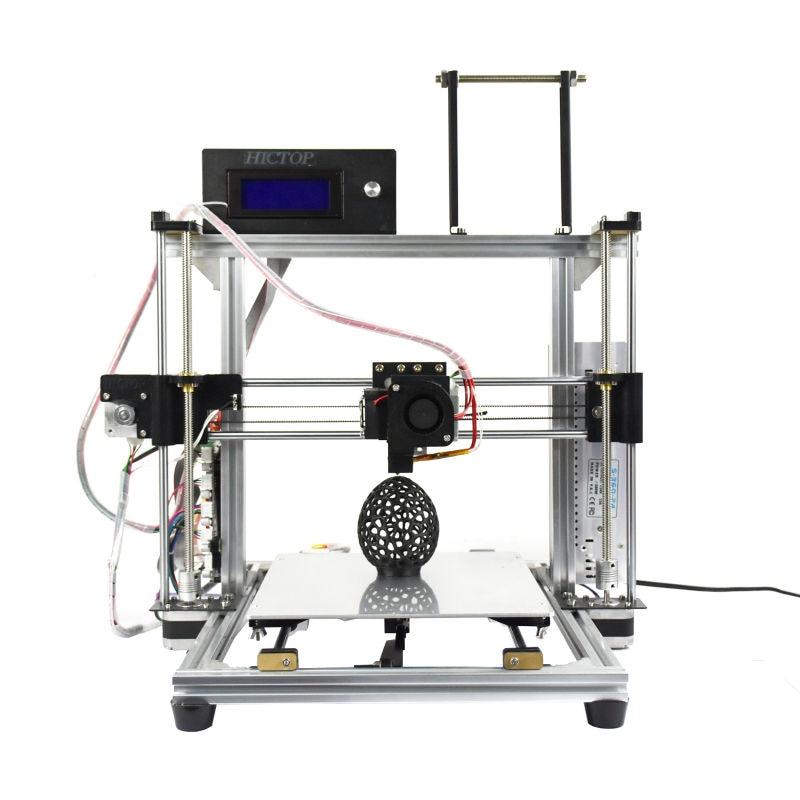 HICTIOP Impresora 3D Marco De Aluminio Completo Kit Mecánico para Reprap Prusa i