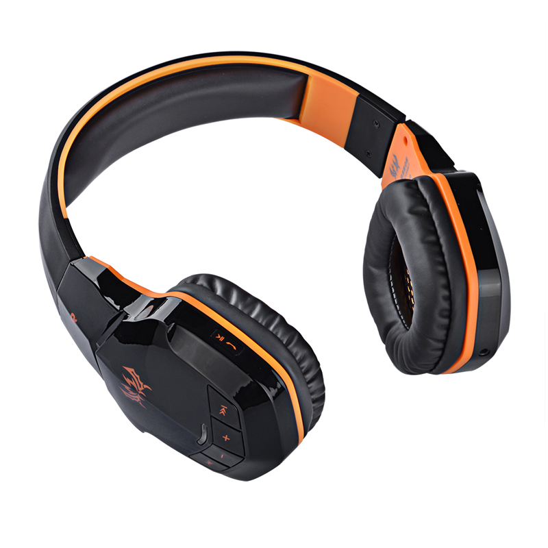 each b3505 bluetooth 4 1 gaming headphone adjustable wireless gaming earphone casque game. Black Bedroom Furniture Sets. Home Design Ideas
