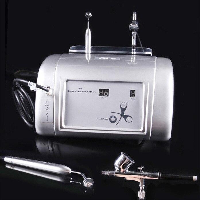 Machine d'injection d'oxygène hydraté Jet Injection pulvérisation rajeunissement de la peau Machine de beauté outils de soins du visage, propreté du visage