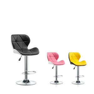 Bar Chair Table-Stool Backrest High-Bar Modern Fashion Rotating Household Creative