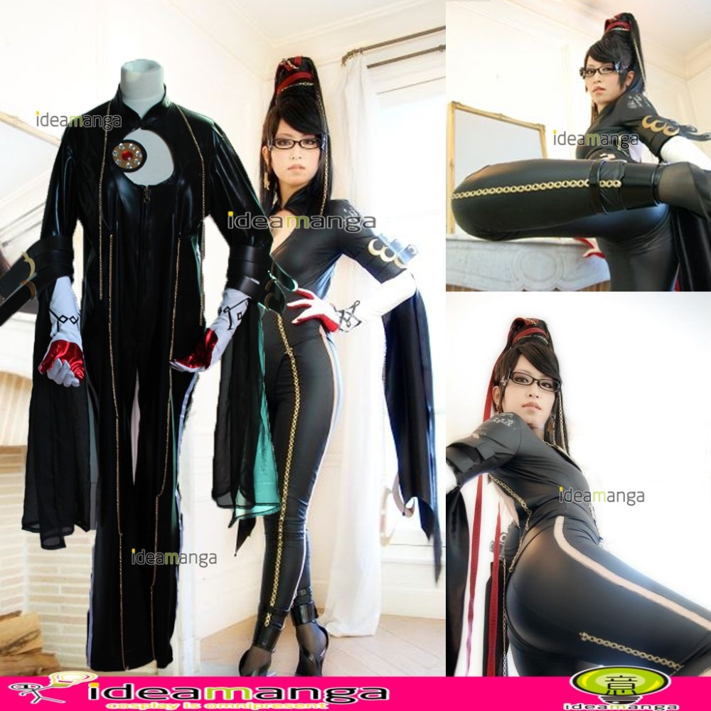 Hot Game Bayonetta   Halloween Christmas  Cosplay Costume For Female