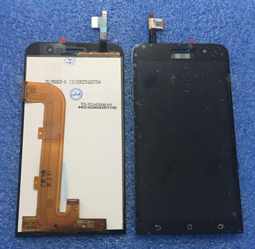 ФОТО  LCD Screen display+touch Digitizer For 5.0'' Asus Zenfone Go ZB500KL X00AD X00ADC X00ADA black Free shipping