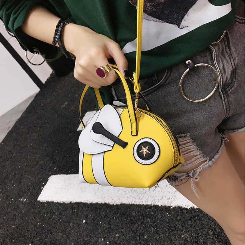 Chulin New Cartoon Small Fish Handbag S Casual Collision Color Shell Bag Fashionable Light Shoulder Lyz6271 In Top Handle Bags From Luggage