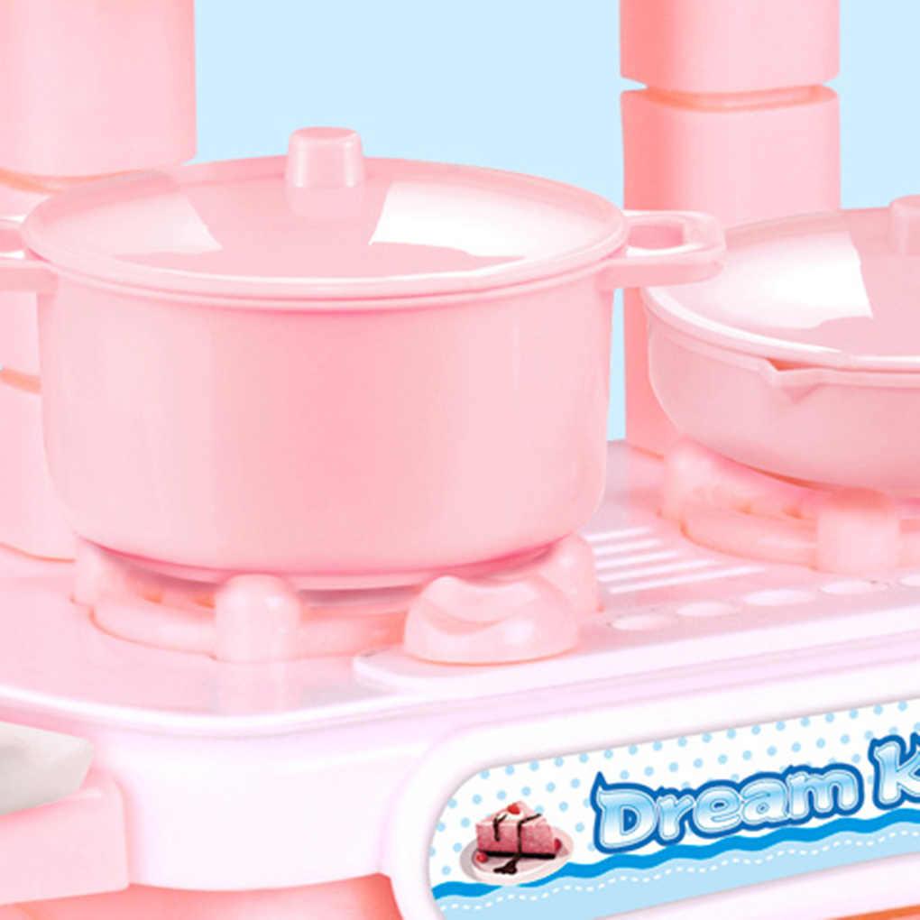 Детские Кухонные Игрушки для девочек, ролевые игры, кулинарные игрушки, наборы посуды для малышей, Кухонные Игрушки для моделирования