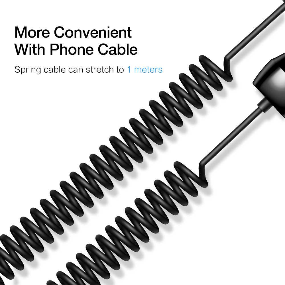 RAXFLY USB سيارة شاحن آيفون 11 7 8 شاحن للهاتف المحمول في سيارة الهاتف شاحن سامسونج S8 S9Plus سريع كابل الشاحن