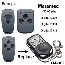 Marantec Garage Tür Tor Marantec D302, D304 433 Mhz ersatz Fernbedienung Duplizierer
