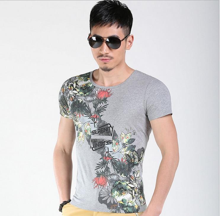 TBAIYE 2019 Rahat Lüks Pamuk Erkekler T-Shirt Marka Ince Kısa Kollu - Erkek Giyim - Fotoğraf 2