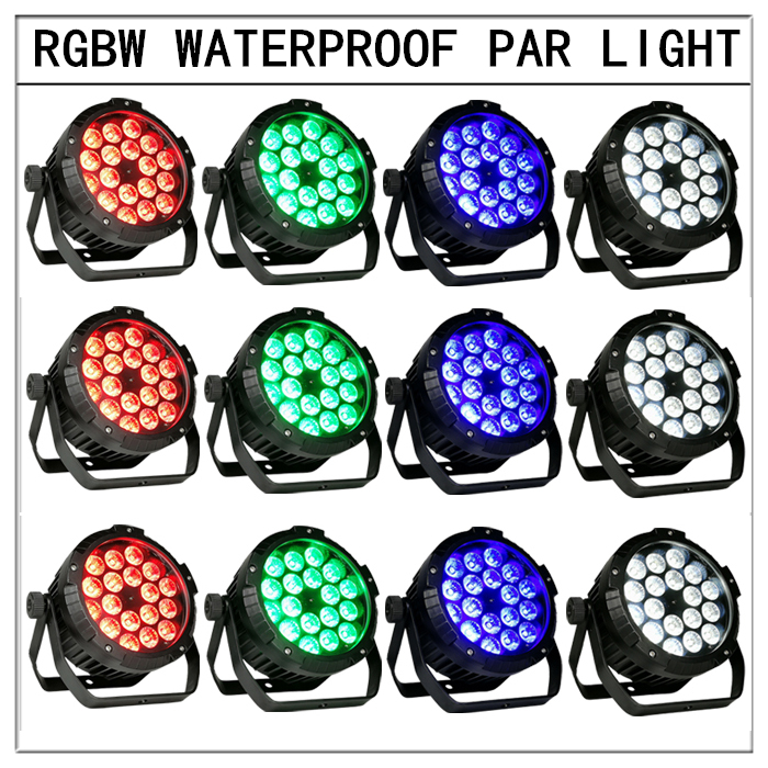 12pcs/18x12w outdoor waterproof led par light high brightness dmx waterproof led ip65 Waterproof led light sp1310 waterproof