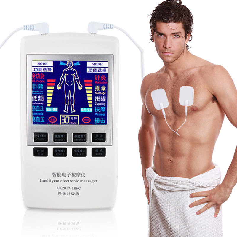Multifunktionale Elektrische Stimulator Zehner-maschine Digitale Therapie ZEHN Maschine Digitale Therapie Massager Körper Knie Schmerzen Relief