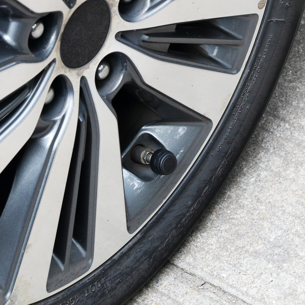 Image 5 - 4 sensors car tire pressure alarm TPMS Digital display auto tyre pressure tester leak warning tire presssure monitoring system-in Tire Pressure Alarm from Automobiles & Motorcycles