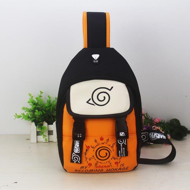 Naruto PU Hand Bag School Bag