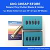 10pc Cutting Plotter Blade 45 60 Degree High Quality Cutter Blades For Liyu GCC Roland Cutter