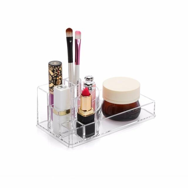 M Acrylic Cosmetics box Clear Makeup organizer Transparent Lipsticks